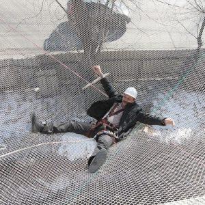 Сетки защитные от падения