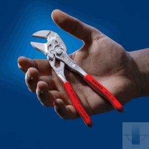 Клещи переставные-гаечный ключ